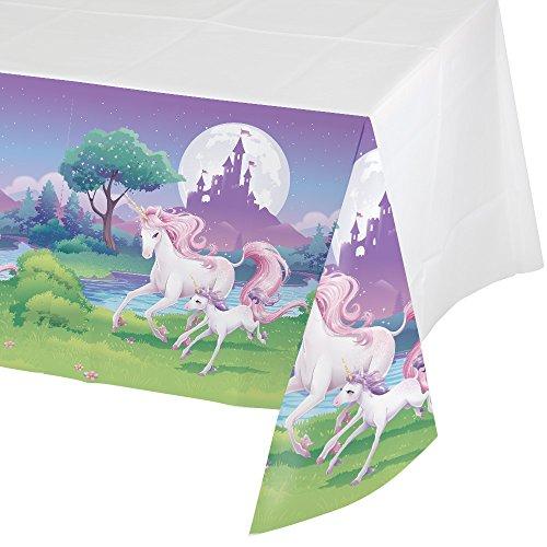 Nappe plastique Licorne magique 130 x 260 cm 0039938206277