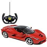 Charles Bentley Ferrari - Ferngesteuertes Modellauto für Kinder - Maßstab 1:14 - Rot