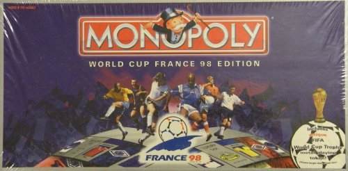 Monopoly: World Cup France 98 Edition by USAopoly