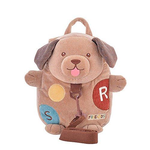 Imagen de metoo marrón perro morral del bebé anti perder  para niños y niñas
