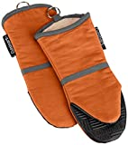 Rust : Cuisinart Oven Mitt with Non-Slip Silicone Grip, Heat Resistant to 500° F, Rust, 2-Pack
