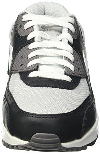 Nike Air Max 90 Essential, Scarpe da Ginnastica Uomo Nero (Pr Pltnm/White-Drk Gry-Cl Gry)