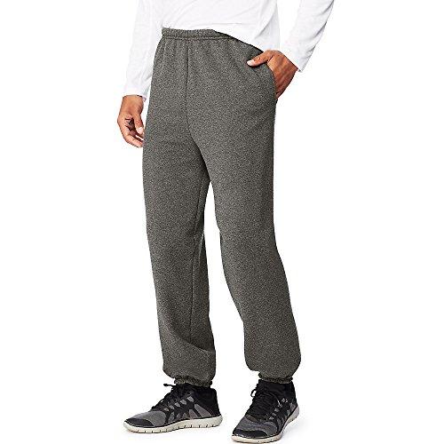 Hanes Mens Sport Ultimate Cotton Fleece Sweatpants With Pockets