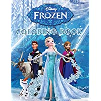 Disney Frozen Coloring Book: Great Coloring Pages For Kids , Ages 3-8