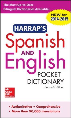 Harrap's Spanish and English Pocket Dictionary (Harrap's Dictionaries)