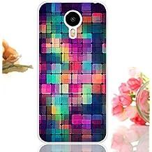 Prevoa ® 丨MEIZU METAL Funda - Colorful Silicona Protictive Carcasa Funda Case para MEIZU METAL 5,5 Pulgadas 4G LTE Smartphone - 10