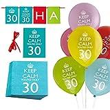 25 Teile Geburtstags-Dekorations-Set