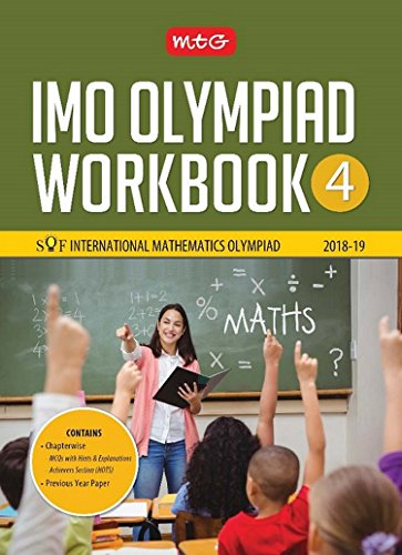International Mathematics Olympiad Work Book (IMO) - Class 4 for 2018-19