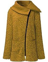 Internet Escudo, Abrigo, Abrigo de Chaqueta Casual de Mujer Sudadera con Cremallera Larga Outwear