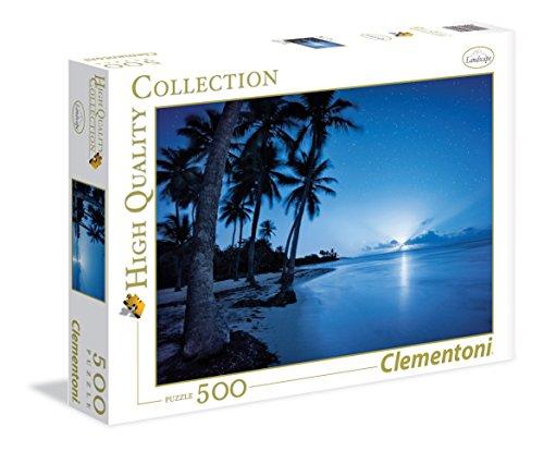 Clementoni - 350230 - Puzzle - La lune montante - 500 Pièces