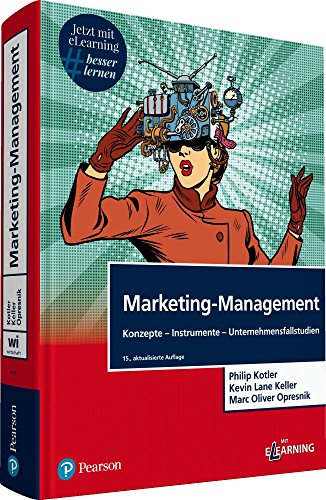 "Marketing-Management. Mit eLearning-Zugang ""MyLab 