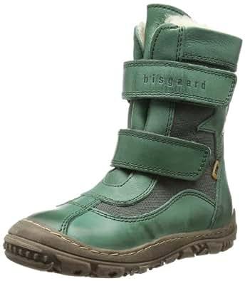Bisgaard Stiefel mit TEX 61017213, Unisex-Kinder Stiefel, Grün (30 Green 30), EU 36
