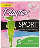 Playtex Playtex Sport Tampons Super Unscented, Super Unscented 18 each