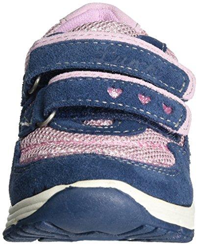 Lurchi Blingi Mädchen Low-Top Blau (Jeans)