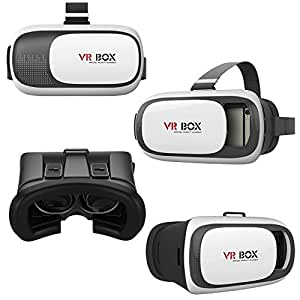 VR BOX 2.0 Imported Virtual Reality 3D Glasses Google Cardboard for Huawei Ascend Y200 ( Remote Control is not included )
