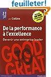 De la performance � l'excellence : De...