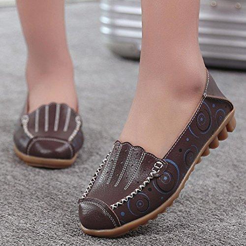 Les hommes et les femmes Slip On Farrah plat en caoutchouc Curseur Mulets fourrure Slipper Sandales Chaussures qBBwK