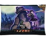 Annie League Of Legends Pillowcase/Fundas para almohada Custom Pillow case/Fundas para almohada Cushion Cover 20 X 30 Inch Two Sides