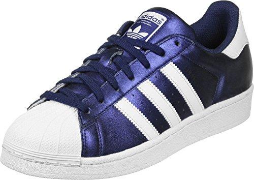 adidas Superstar S75875, Scarpe sportive blu/bianco