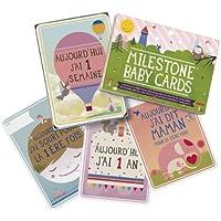 Lot de 30 cartes illustrées Ma première année
