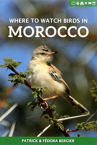 Where to Watch Birds in Morocco (Where to Watch Guides) por Patrick Bergier