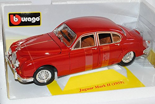 jaguar-mark-mkii-1959-rot-1-18-bburago-modell-auto