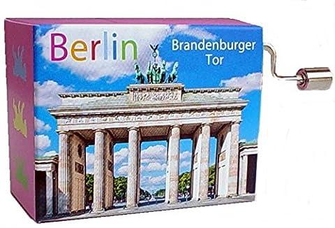 Mini Barrel Organ Air Berlin Brandenburg Gate.. on Resonance