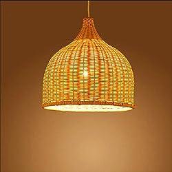 Lámpara de bambú de techo 35 * 35cm