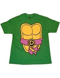 Mighty Fine TMNT Teenage Mutant Ninja Turtles Donatello Kostüm grün T-Shirt