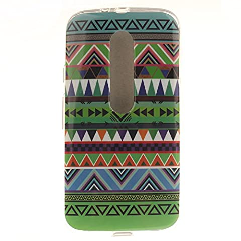 Jepson Motorola Moto G3 (5 pouces) coque , Ultra Mince Etui Matériel De TPU de téléphonie mobile De Silicone Pour Bonne protection pour votre téléphone , idéal pour protéger votre téléphone ,