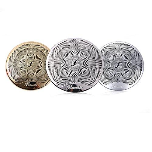 Innen Dekoration, car-styling Stahl Tür Lautsprecher, Verkleidung Burmester Design Aluminium Legierung Set of 4