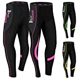 Ladies Cycling Tights Padded Winter Thermal Pants Womens...