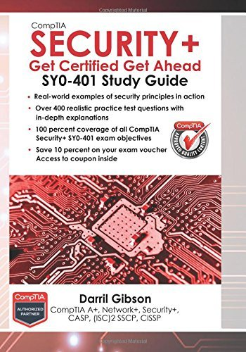 By Darril Gibson CompTIA Security+: Get Certified Get Ahead: SY0-401 Study Guide (3rd Edition) [Paperback]