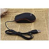 VVT Nueva Lenovo M20Mini USB ratón óptico con cable 3d para PC y computadoras portátiles