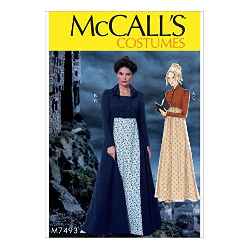 Mccall Kostüm Pattern - McCall 's Patterns Schnittmuster Kostüme, Mehrfarbig, Größen 14-22-p, Mehrfarbig, 152 x 213 cm