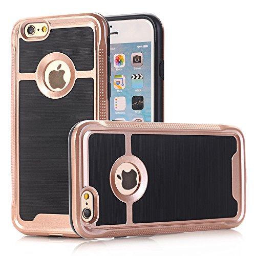 """Coque iPhone 6 Plus / 6s Plus, Alfort 2 en 1 Housse / Etui de Protection en PC Rigide + TPU Protection totale pour Apple iPhone 6 Plus / 6s Plus 5.5"""" Smartphone Super Jolie et Brillant ( Vert ) + Styl Doré"""