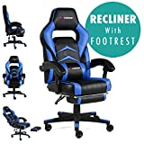 GTFORCE Turbo Reclining Sports Racing Gaming Office Desk PC CAR Faux Leather Chair - Best Reviews Guide