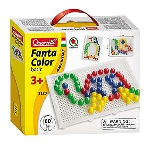 Quercetti 2123 Fantacolor Basic Chiodini