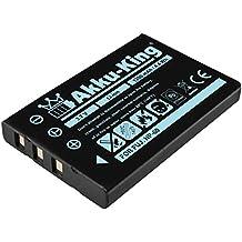 Akku-King Batterie compatible Fujifilm NP-60, Kodak Klic-5000, SONY COMA-BP1, Samsung SB-L1037 PANASONIC VW-VBA10 - Li-Ion 1200mAh