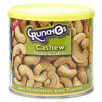 Crunchos Fried & Salted Cashews - 200 gm