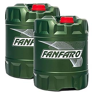 40 Liter (2x20L) FANFARO Hydrauliköl Hydro ISO 46 HLP 46 Industrie Öl VDMA 24318