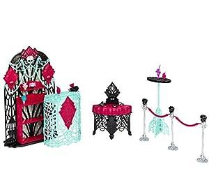 Monster High - Accesorios Zombiwood, salón VIP (Mattel BDD91)