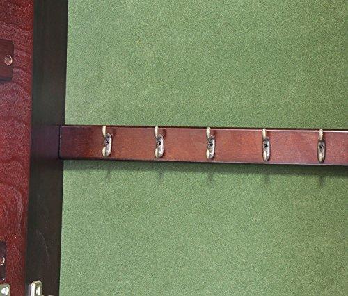 HLC-Joyero-de-madera-de-pie-con-gran-espejocolor-Marrn-y-verde-NUEVO-MODEL