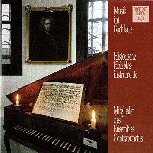 Musik im Bachhaus: Historische Holzblasinstrumente