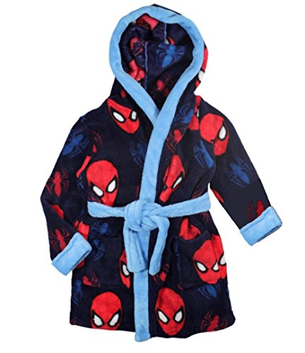 Marvel, accappatoio a tema spiderman - 98 (2-3 years) - marina militare