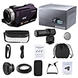 Festnight Andoer 4K 1080P 48MP WiFi Digital Video Camera Camcorder Recorder