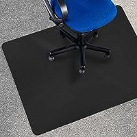 Tappeto salvapavimento Office Marshal® per moquette | Polipropilene | Nero | diverse misure, 90x120 cm
