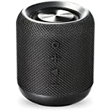 Portronics SoundDrum Bluetooth 4.2 Stereo Speaker POR-871 with FM Tuner, 3.5mm AUX, Powerful 10W Sound, in-Built Mic and USB Port(Black)