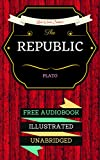 Image de The Republic: By Plato & Illustrated (An Audiobook Free!) (English Edition)