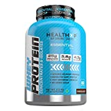 HealthXP 100% Whey Protein 2.5 Kg/80 Servings/25gms Protein Per Servings (Essential Series) (Chocolate)